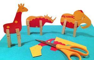 Dieren: Crafts For Kids, Craft Kids, Knutsel Kids, Clothespins Legs, Clothespins Crafts, Clothespins Animal, Crafts Projects, Animal Crafts Kids, Cardboard Animals