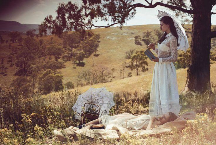 Vogue Australia March 2015 | Teresa Palmer & Phoebe Tonkin by Will Davidson [Editorial]