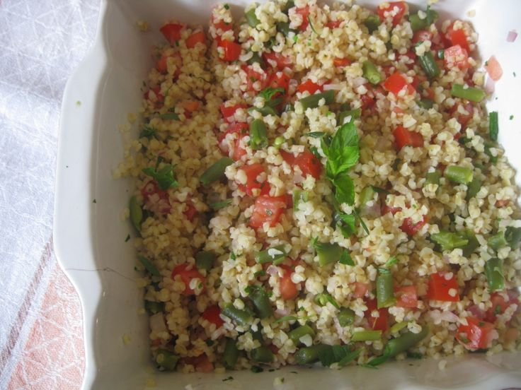 Insalata di bulgur light