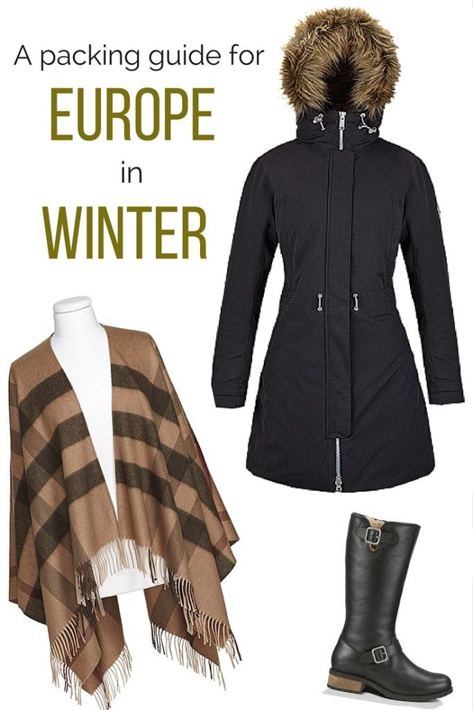 A packing guide to winter in Europe- for fashionable ladies!