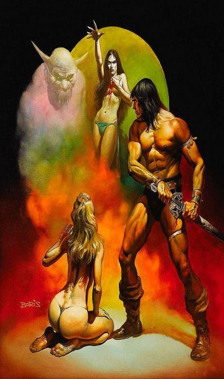 Conan the Freebooter, 1977 // Boris Vallejo