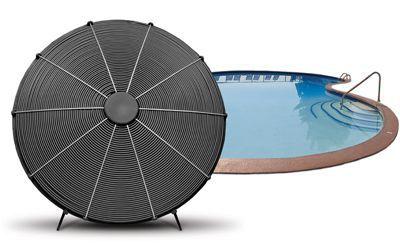 Solární ohřev vody bazénu V teplých letních dnech většina solárních systémů generuje přebytečné teplo, které lze dále pak použít například k ohřevu vody bazénu. Systém se napojí na dostatečně dimenzovaný bazénový výměník a solární regulace se o vše postará za Vás. Pokud patříte mezi fandy solárního ohřevu bazénu, rádi vám navrhneme vhodné řešení. Máme v nabídce bazénové výměníky různých typů a výkonů.