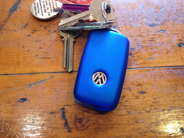 Key fob cover to match body paint colour :)
