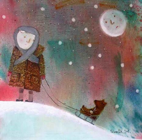 Anna Silivonchik.  Long Winter.