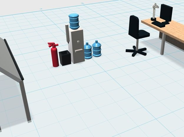 1000 images about 3d printed models on pinterest wall for Scale model furniture