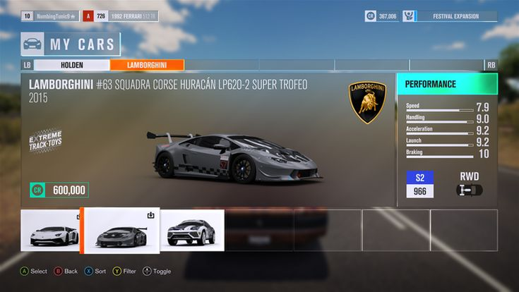 Image result for Forza Horizon 3 ui