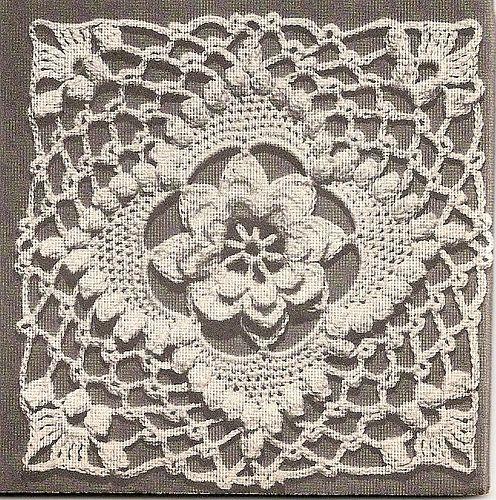 Vintage Crochet Motif - 1947 | von Charming Crochet