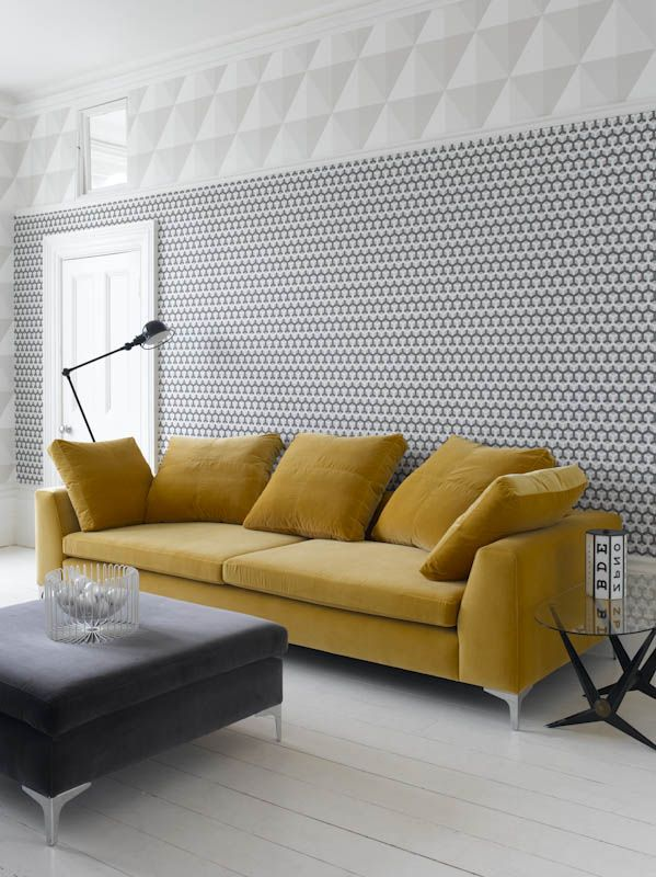 sweet designer couches. A statement piece What could be more stylish than adding a mustard yellow  sofa to an otherwise grey and white room this fabulous designer look proves that 19 best Sofa s images on Pinterest Canapes Couches Settees