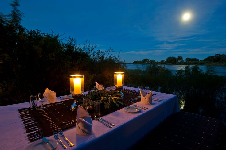 @Sindabezi Island Lodge on the Zambezi River, Zambia