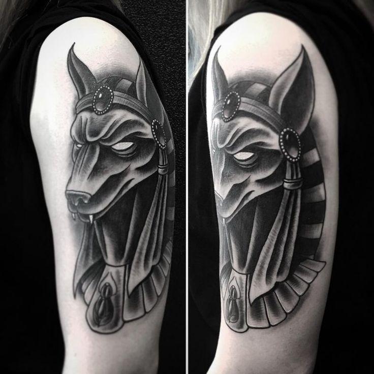 Anubis Tattoo 77