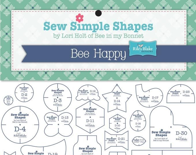 Cozy Christmas Simple Shapes Template by Lori Holt