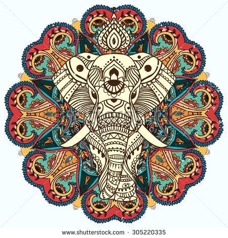 Elephants India Fotos, imágenes y retratos en stock | Shutterstock