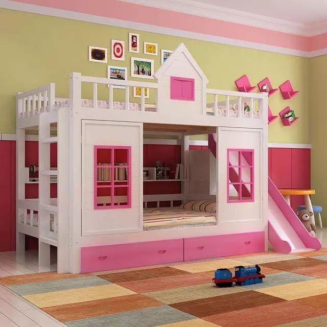 2016 Modern Solid Wood Children S Bed Wood Bunk Bed With Ladder Cabinet Slider Children Furniture Sets Ali In 2020 Wood Bunk Beds Childrens Bunk Beds Childrens Beds