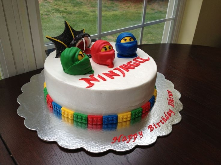 Ninjago cake — Childrens Birthday Cakes
