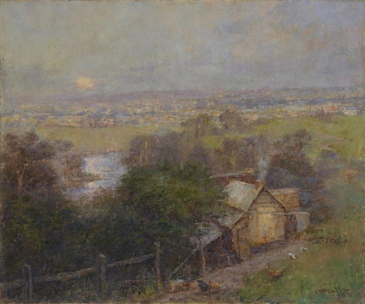 Frederick McCubbin: Moonrise