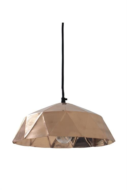 Products details - Verlichting - Koperen lamp diamant hkliving.nl