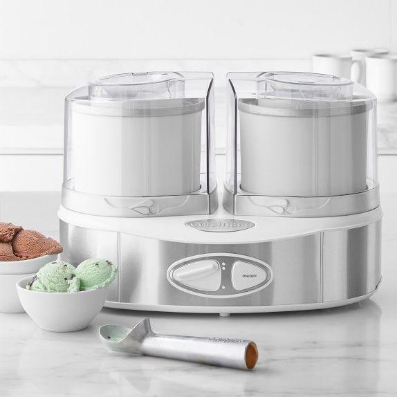 Cuisinart Flavor Duo Frozen Yogurt Ice Cream Sorbet Maker Frozen Yogurt Sorbet Maker Yogurt Ice Cream