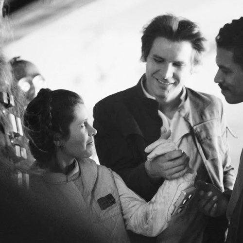 Star Wars. Carrie, Harrison, Billy Dee