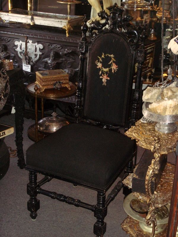 95 best images about chairy seatuation on pinterest for Victorian gothic chair