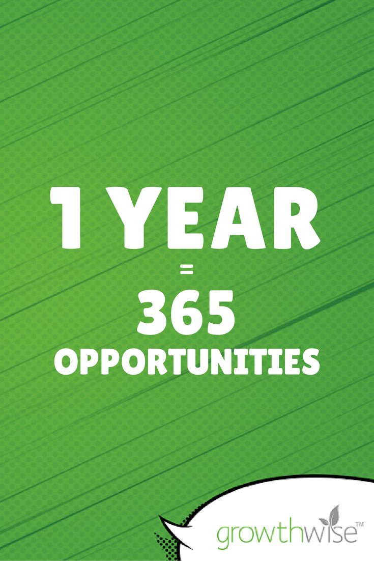 1 year = 365 opportunities. Let's make everyday count. What are you doing today to smash your goals #motivationmonday #focused #inspiration #smallbusiness