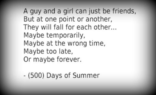 500 days of summer quotes | Tumblr