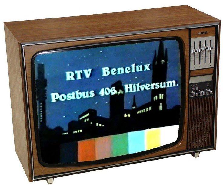 """TV PIRAAT """"RTV Benelux Hilversum"""" met Presentatrice en reclamespots"""