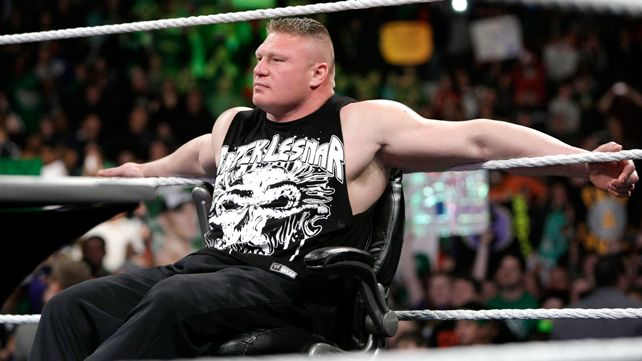 brock lesnar returns