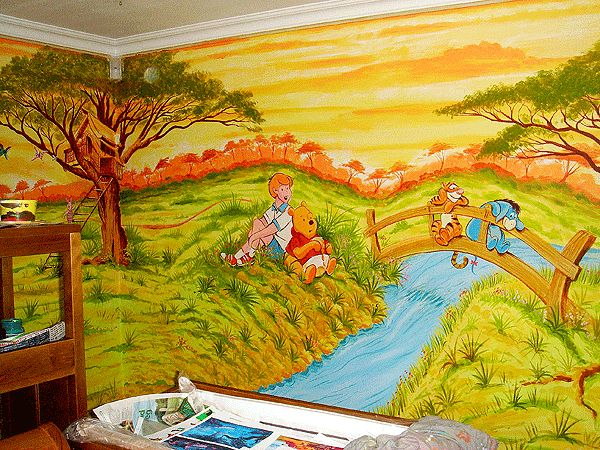 78 best Kids room murals images on Pinterest | Child room, Bedrooms ...