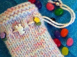 259 best treasure bags images on pinterest crochet bags crochet golden bird knits goodie bag knitting pattern negle Image collections