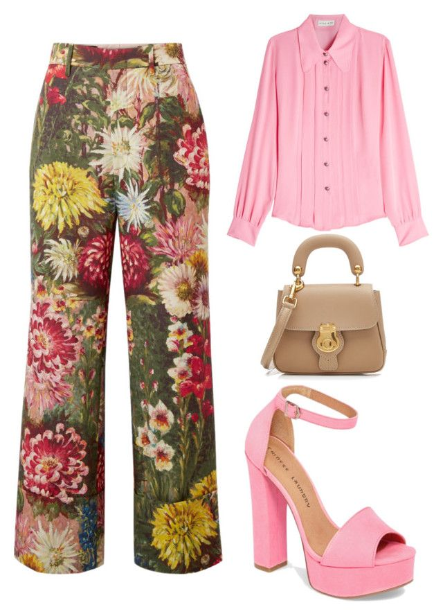 """Untitled #202"" by zsofi-szibilla on Polyvore featuring Gucci, Etro, Chinese Laundry and Burberry"