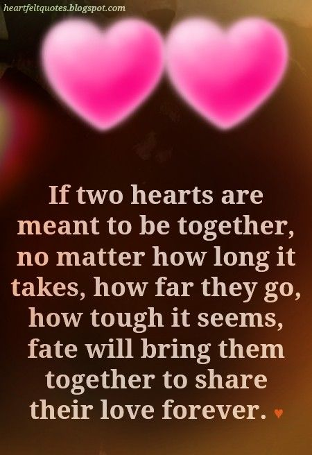 We were meant for each other even before when we first met. I then knew the first time we were together that we were always meant for each other. My heart will never let you go. It will always be as it is forever and ever!!