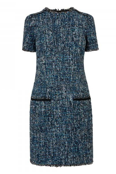 The beauty of tweed is that is sits perfectly to form smart, tailored, structured pieces, like miniskirts and blazers, but its woolly knit substance means it works perfectly in an off-duty edit, too. Whether you invest in a lifetime piece from a designer name (turn to big league French brands like Marant and Iro for an authentic look) or pick from Zara's dense new collection, adding a tweed piece to your autumn repertoire will stand you in fashionable stead.