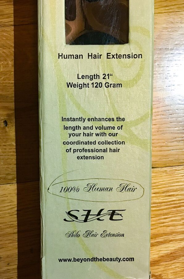 3bfb5fbee64f Clip On Human Hair Extension (7 Piece Package) By -