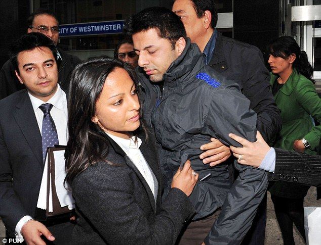 Dewani collapsed after leaving Westminster Magistrates' Court at following bail hearing last month, one would question if this was a publicity stunt or indeed this case was definitely affecting him emotionally.