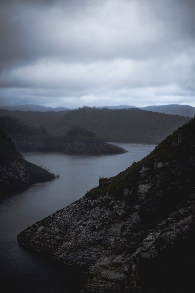 Lake Gordon, Tasmania (photo by Dearna Bond)
