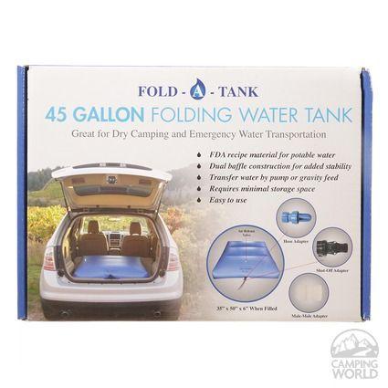 Portable RV Fresh Water Tank: 45 Gallon - New World CW1605 - Fresh Water Tanks - Camping World