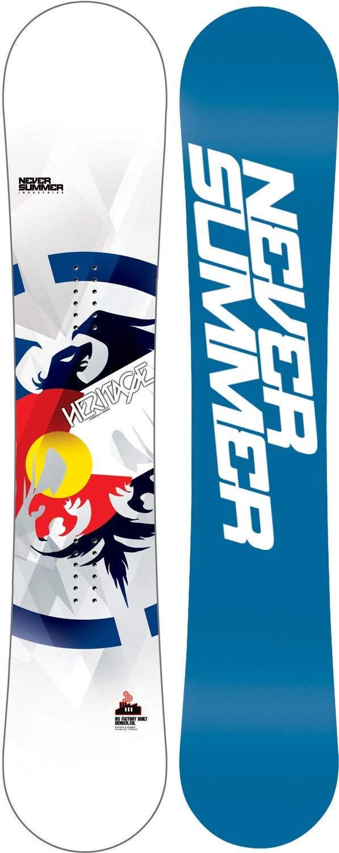 Never Summer Heritage / Heritage X Snowboard - Snowboard Shop > Snowboards > Men's Snowboards