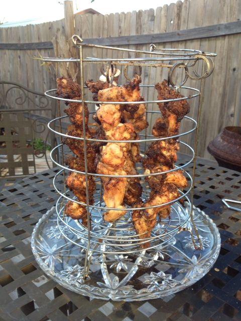 Oil-less Fried Chicken Wings Recipe