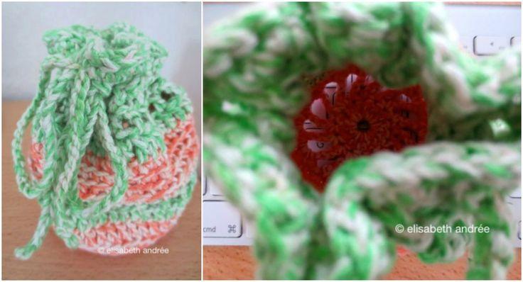 Little Crochet Pouch [Free Pattern] | Styles Idea