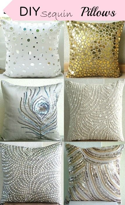True Event- DIY, Sequin Pillows, easy DIY and glitter (www.trueevent.com)