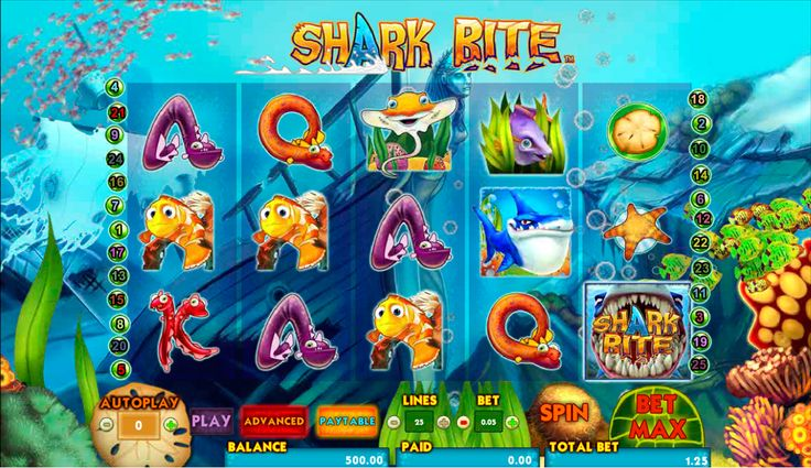 Gefahr und Spass - das ist ja Verbindung!  So ist der Shark Bite #Spielautomat von #Amaya, der kostenlos zum spielen verfügbar ist! Nutze diese Gelegenheit!