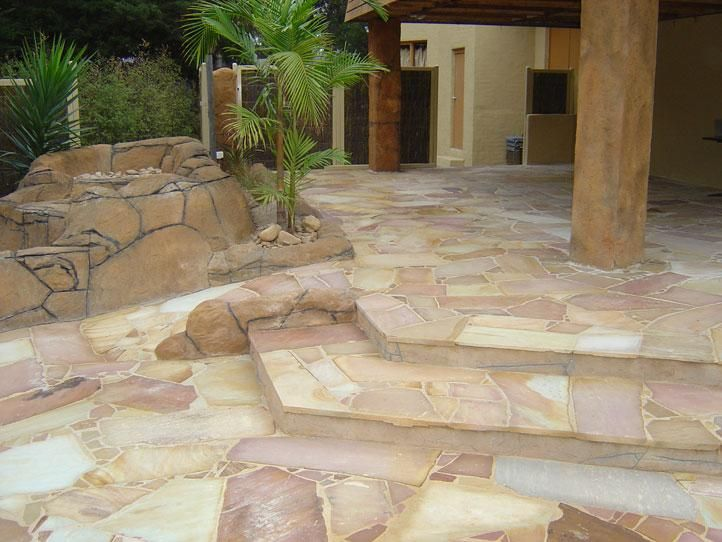 Paving Design Ideas - Get Inspired by photos of Paving Designs from Luxury Stone Imports - Australia | hipages.com.au
