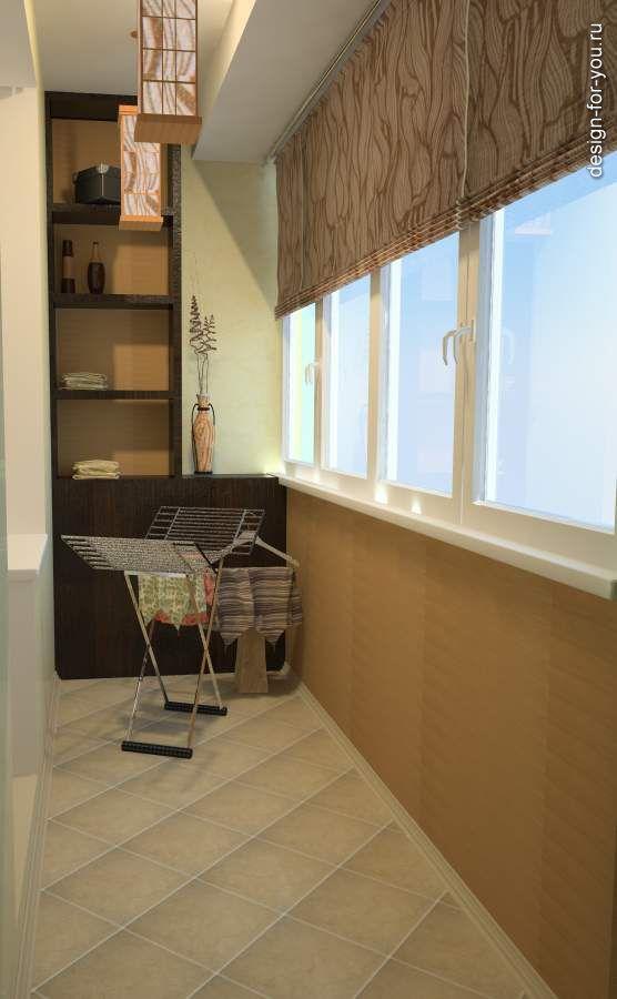Идеи и дизайны закрытых балконов