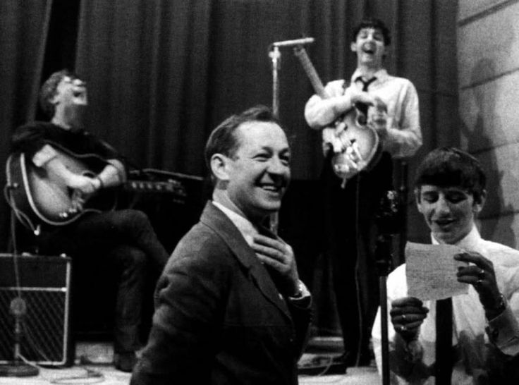 Playhouse Theatre, London  May 21, 1963: Reading requests with Brian Matthew