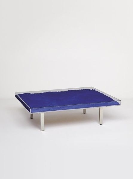 Table Bleue by Yves Klein