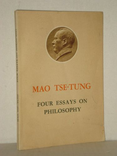 Four essays on Philosophy by Mao tse-Tung, China, Chinese History, Marxism Books