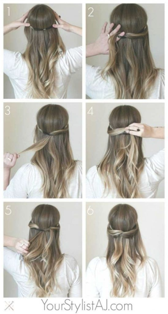 Schone Frisuren Fur Lange Haare Zum Selber Machen Trends Schone