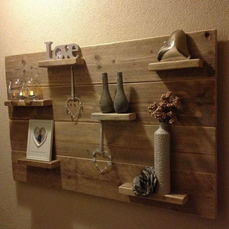 Bord van steigerhout