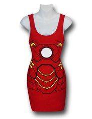 Iron Man Costume Juniors Tank Dress