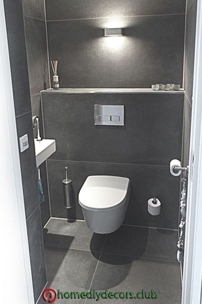 Gäste Wc Gäste Wc Toiletten Wc Renovieren Badezimmerideen